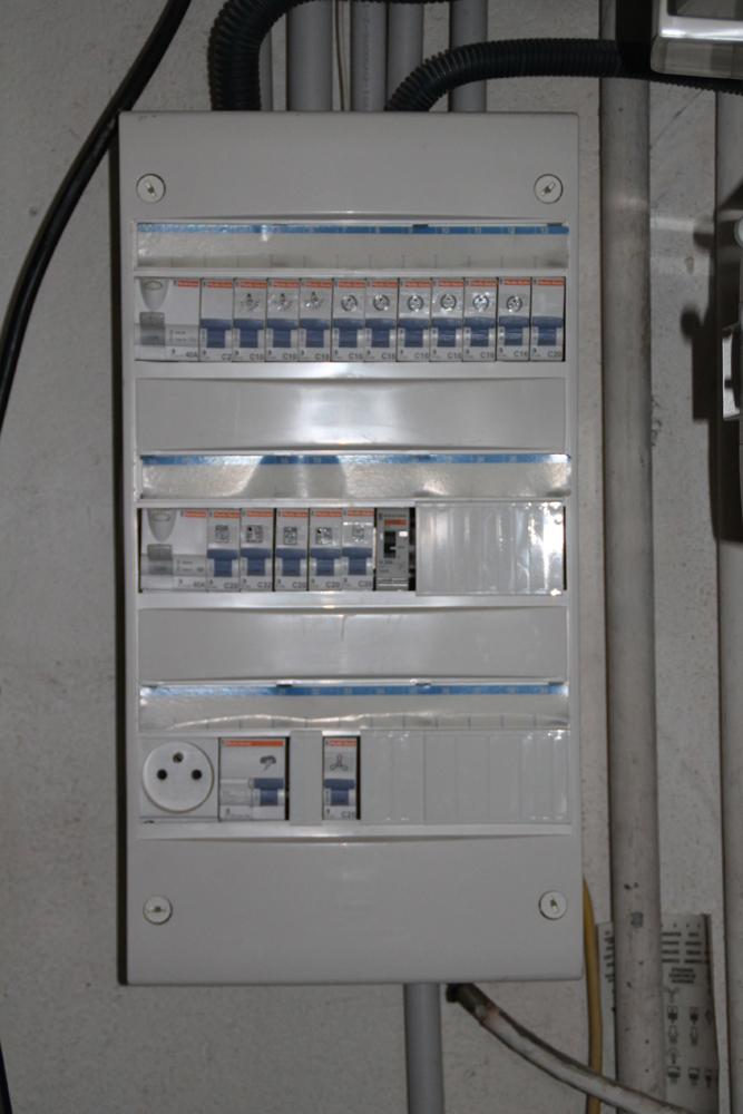 Câblage disjoncteurs